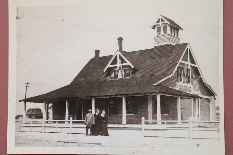 Original life saving station Photo