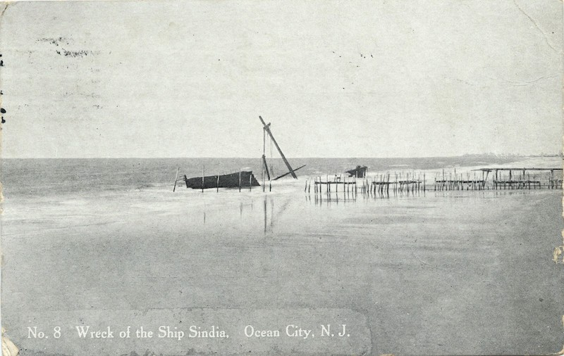 """Wreck of the Ship Sindia"" Original Photo"