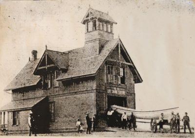 Original Station Circa 1882