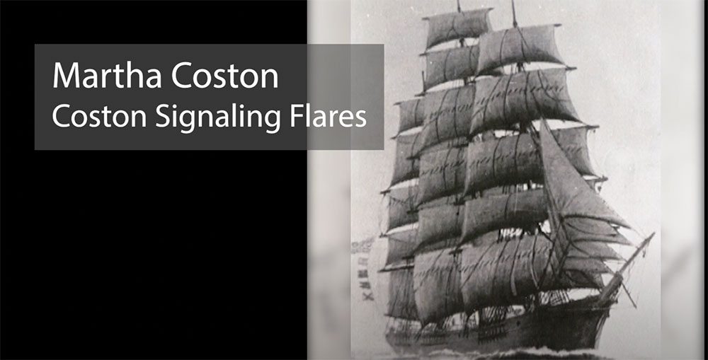 Martha Coston Signal Flares